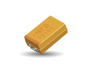 TRJ series tantalum capacitor